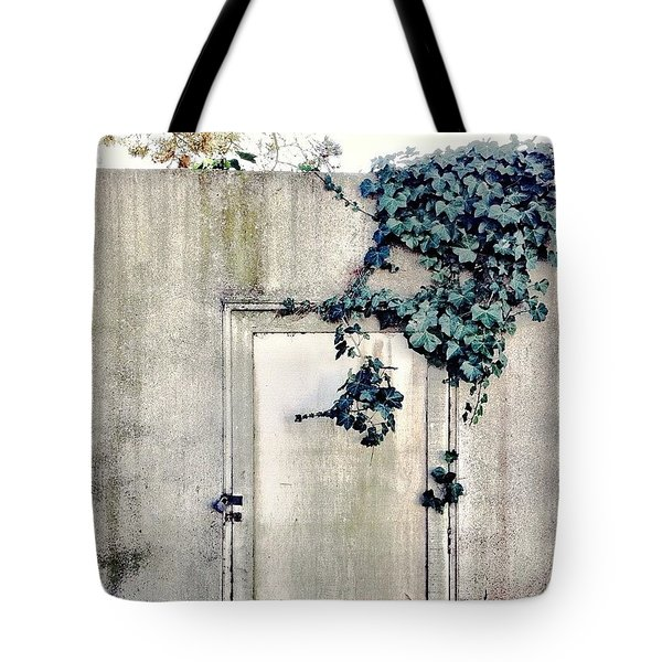 Concrete Wall Tote Bag