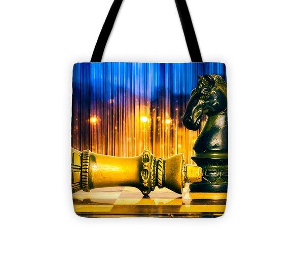 Condescending Knight Tote Bag by Bob Orsillo