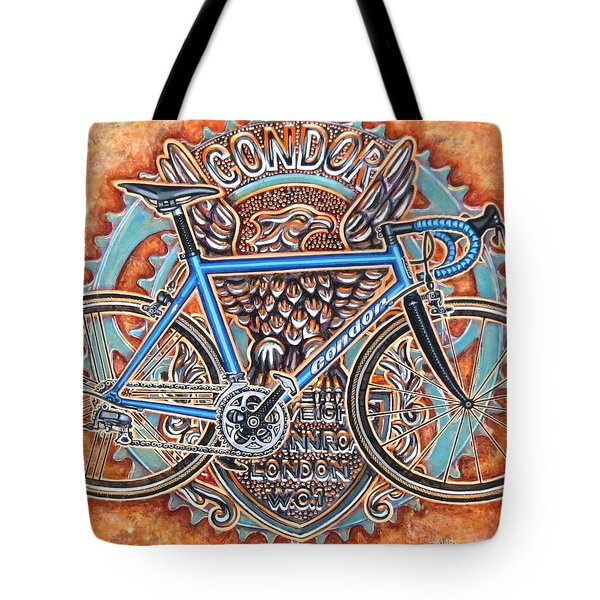 Tote Bag featuring the painting Condor Baracchi by Mark Howard Jones