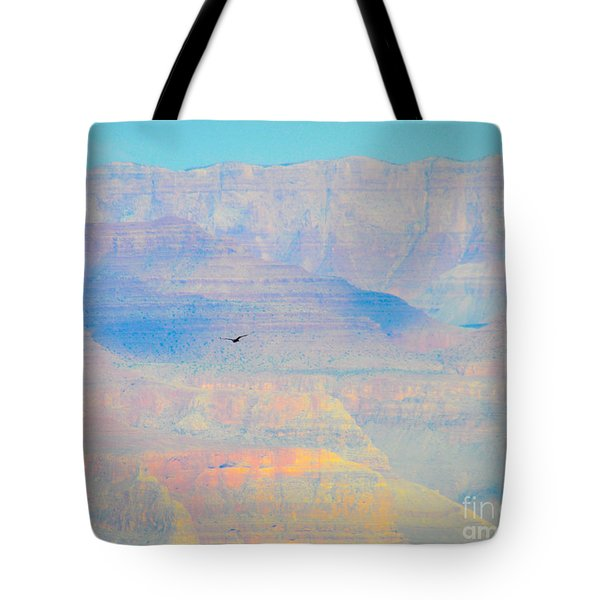 Tote Bag featuring the photograph Condor Series A by Cheryl McClure