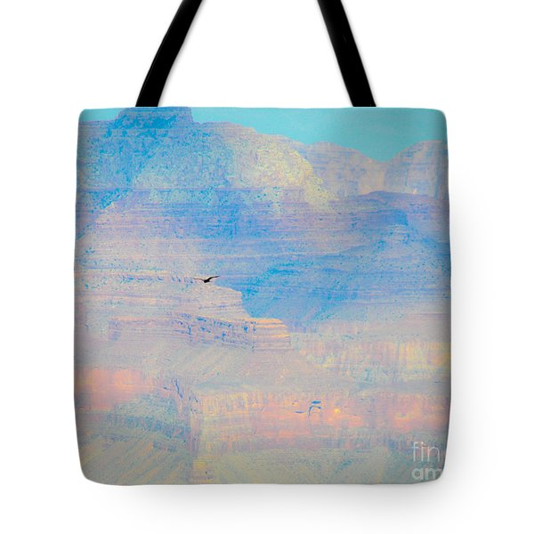 Tote Bag featuring the photograph Condor Series C by Cheryl McClure