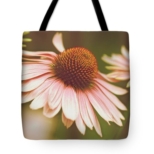 Cone Flower 3 Tote Bag