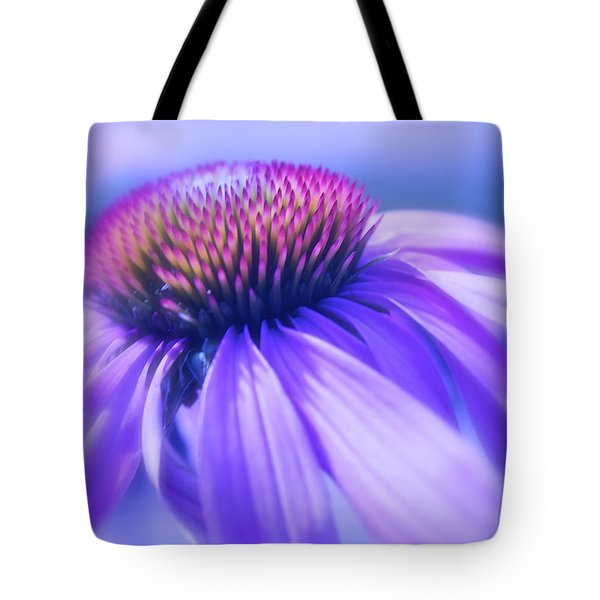 Cone Flower In Pastels  Tote Bag by Linda Bianic