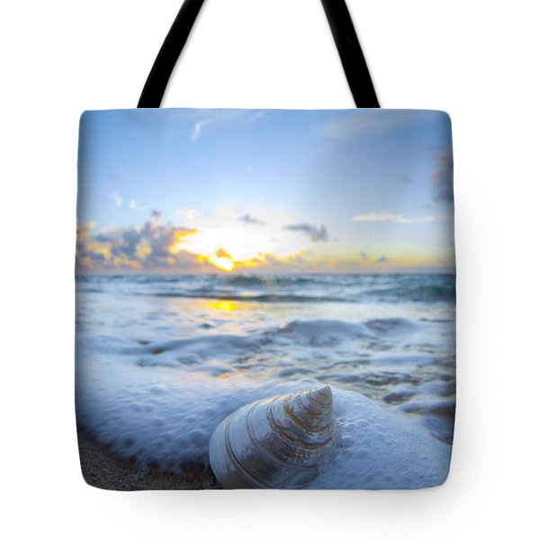 Cone Shell Foam Tote Bag