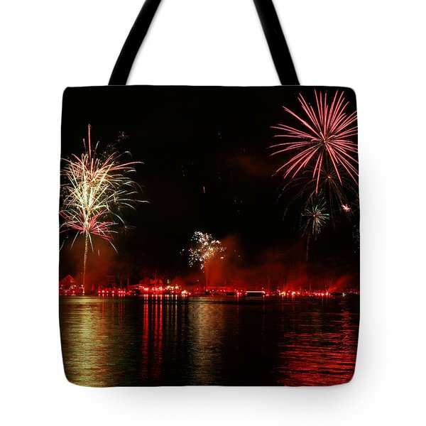 Conesus Ring Of Fire Tote Bag