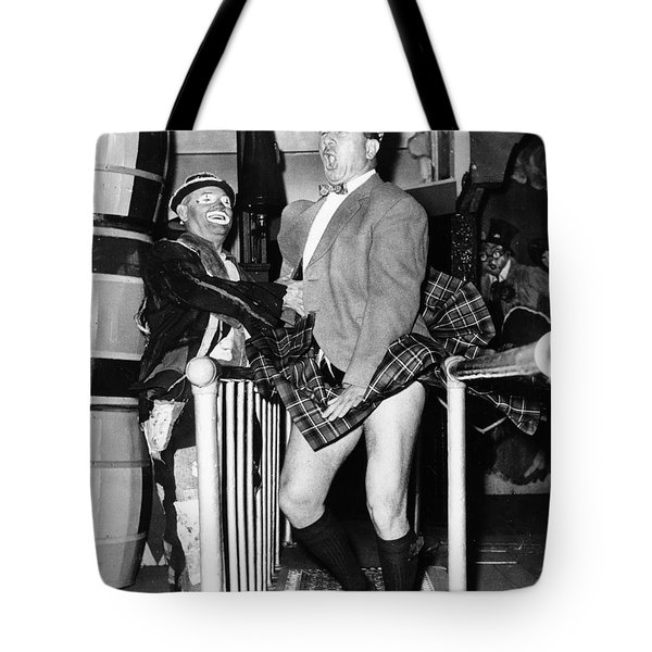 Coney Island Fun House Tote Bag by Granger