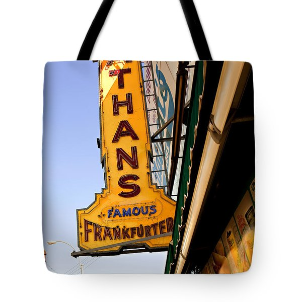 Coney Island Memories 1 Tote Bag