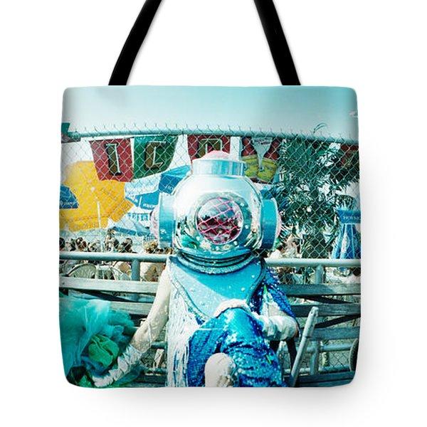 Coney Island Mermaid Parade, Coney Tote Bag