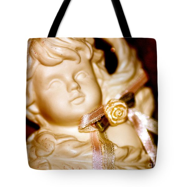 Confetti Cherub Tote Bag by Cathy Dee Janes
