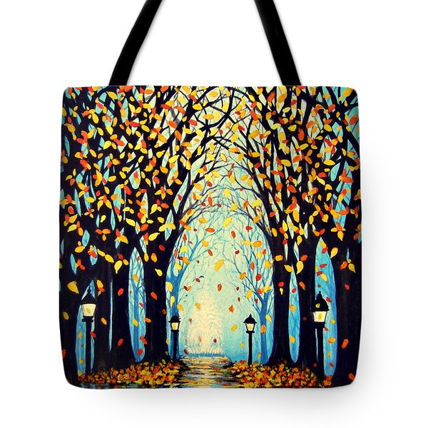 Confetti Tote Bag by Janine Riley