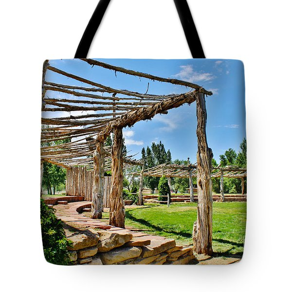 Confluence Park Delta Colorado Tote Bag by Janice Rae Pariza