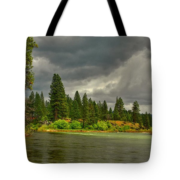 Tote Bag featuring the photograph Confluence by Sam Rosen