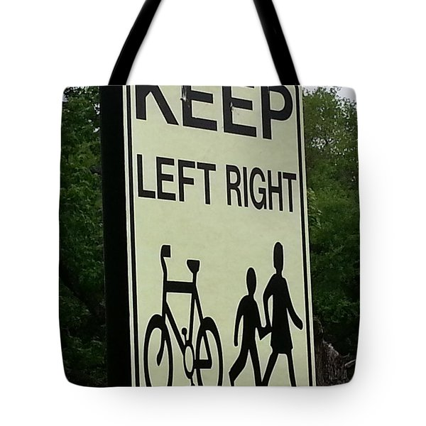 Confusion Tote Bag