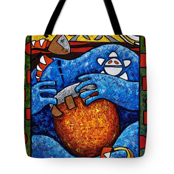 Conga On Fire Tote Bag