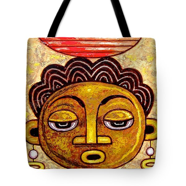 Congalese Face 1 Tote Bag
