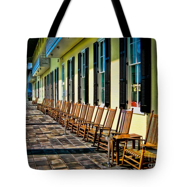 Congress Hall Rockers Tote Bag