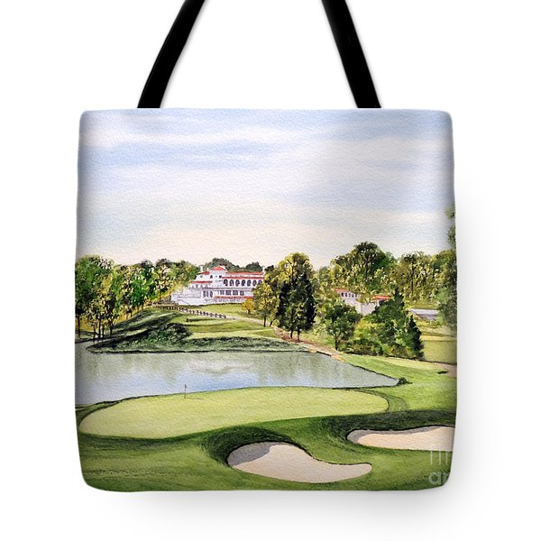Congressional Golf Course 10th Hole Tote Bag