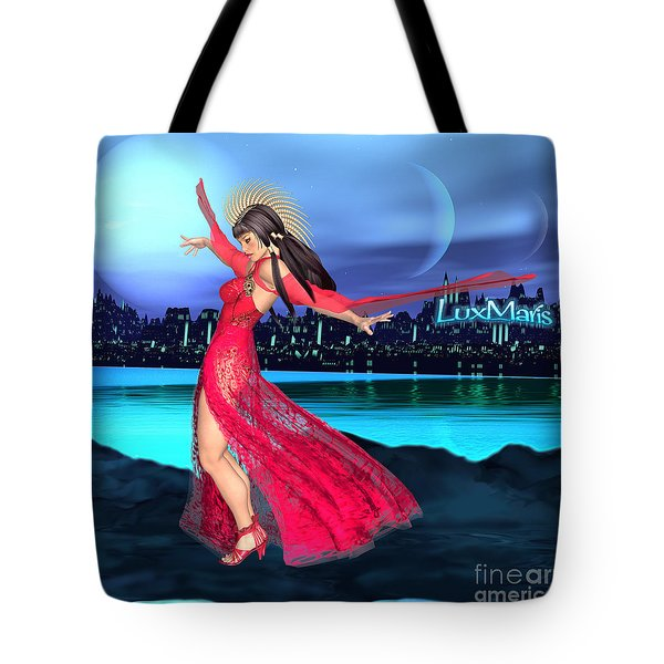 Conjunction Tote Bag by Renate Janssen