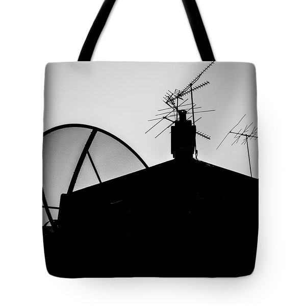 Connected Tote Bag by Kaleidoscopik Photography