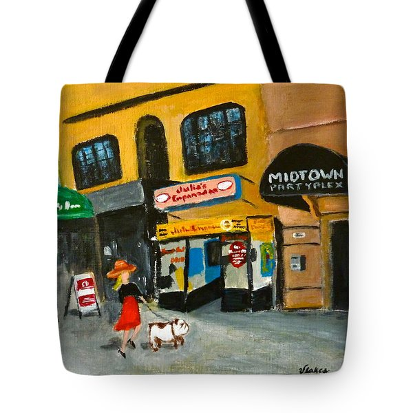 Connecticut Avenue Dc Tote Bag by Victoria Lakes