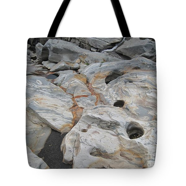 Connecticut River Bed Tote Bag