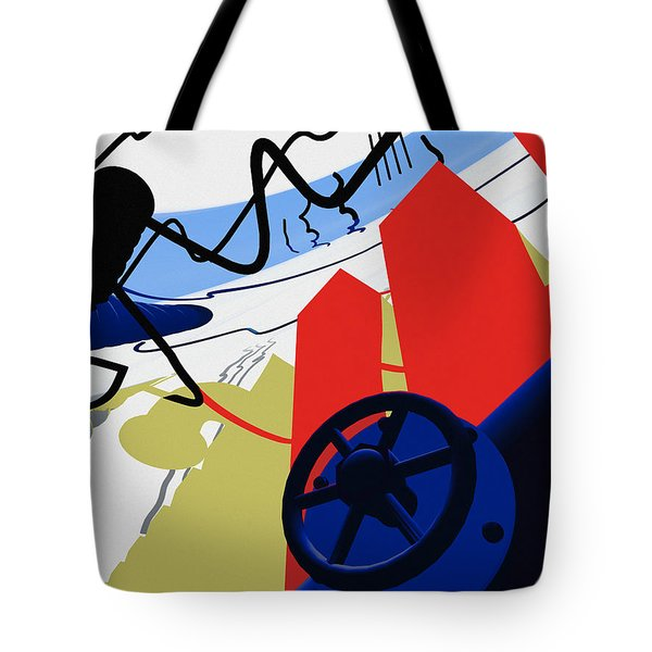 Connections Tote Bag by Richard Rizzo