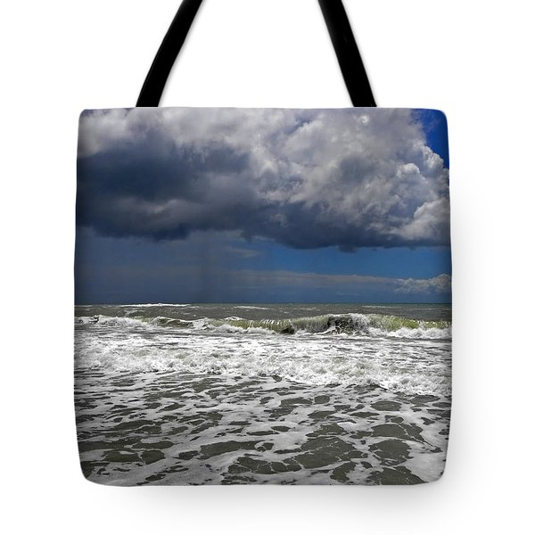 Conquering The Storm Tote Bag