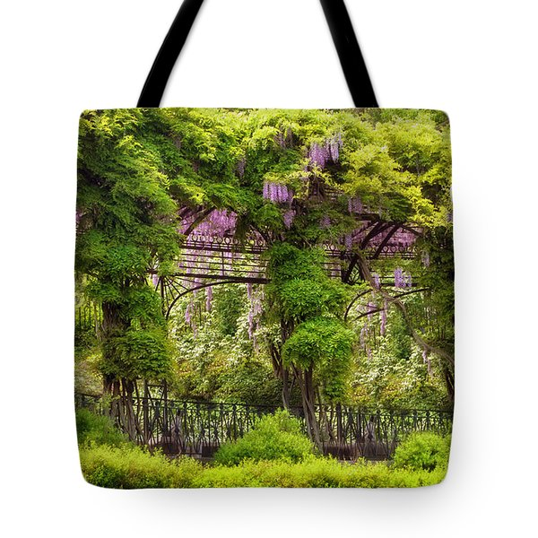 Conservatory Gardens Tote Bag