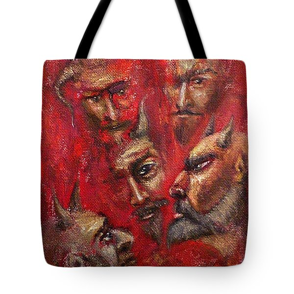 Conspiracy Tote Bag by Arturas Slapsys