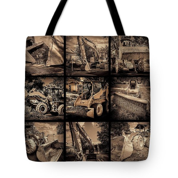 Construction Collage-1 Tote Bag