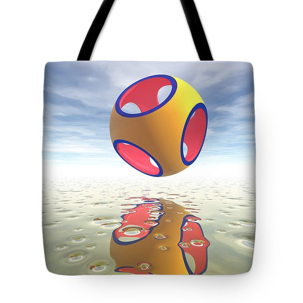 Constructive Solid Geometry Csg Tote Bag by Carol and Mike Werner