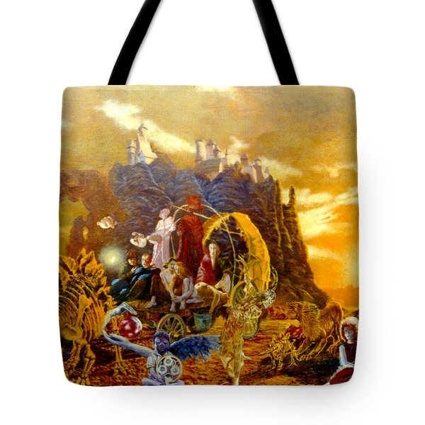 Constructors Of Time Tote Bag