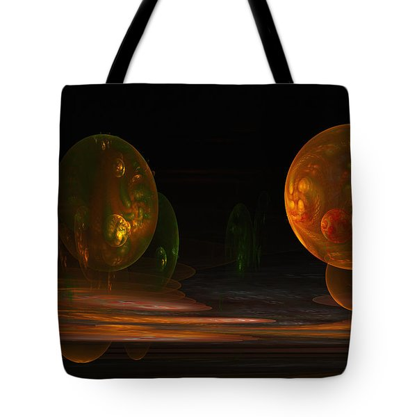 Consumed From Within Tote Bag by GJ Blackman
