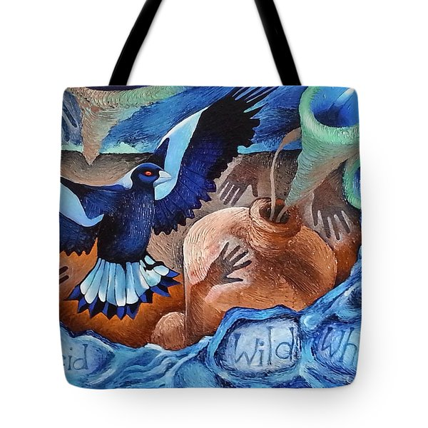 Container Of The Winds Tote Bag