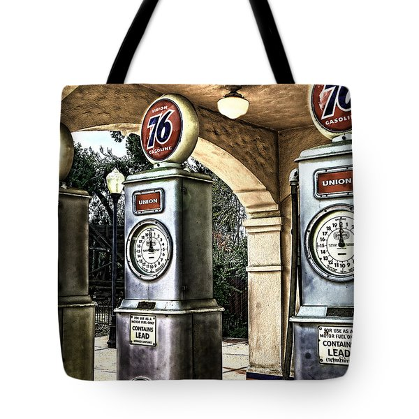 Tote Bag featuring the painting Contains Lead by Muhie Kanawati