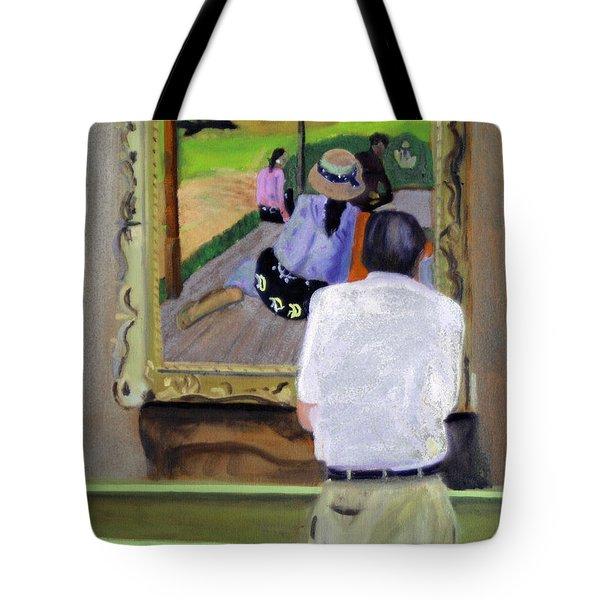 Contemplating Gauguin Tote Bag