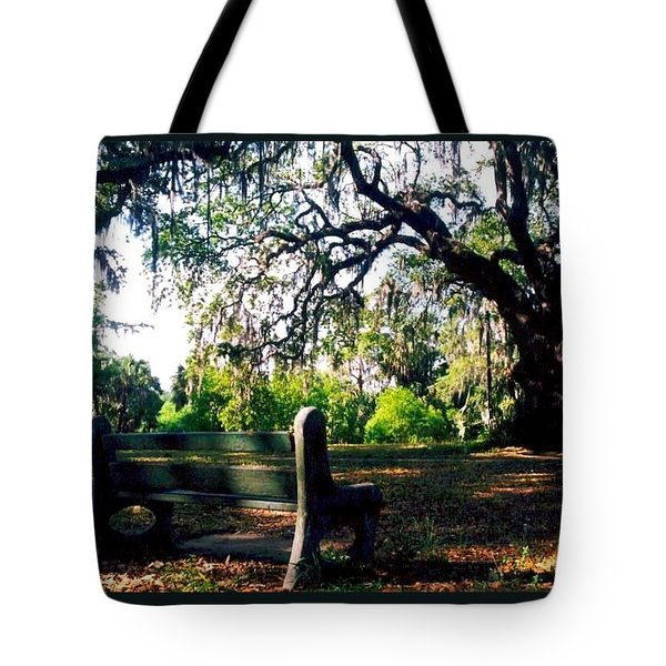 Tote Bag featuring the photograph New Orleans Contemplating Solitude by Michael Hoard