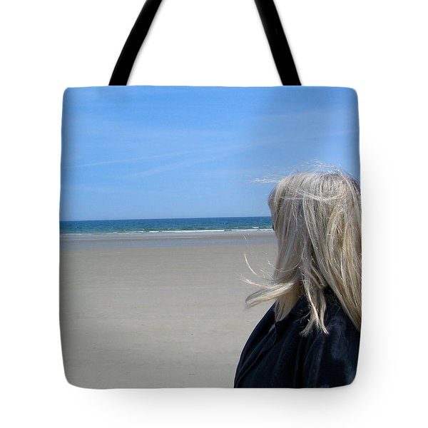 Contemplating The Stillness Tote Bag
