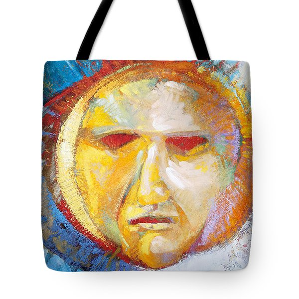 Contemplating The Sun Tote Bag