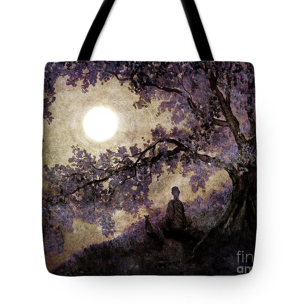 Contemplation Beneath The Boughs Tote Bag