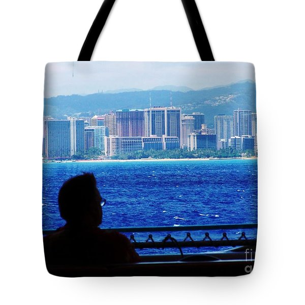 Contemplation Of Paradise Tote Bag