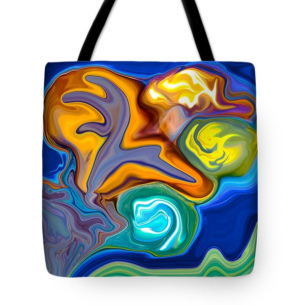 Contemplation Tote Bag by Omaste Witkowski