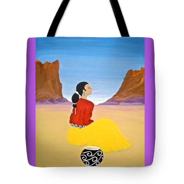 Contemplation Tote Bag by Stephanie Moore