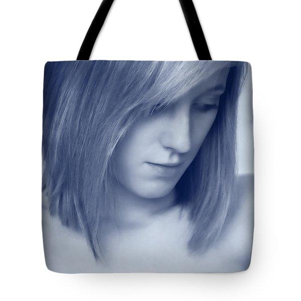 Contemplative Tote Bag by Amanda Elwell
