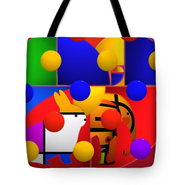 Contemporary Art Tote Bag