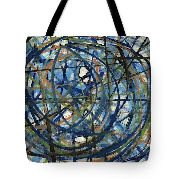 Contemporary Art Seventeen Tote Bag