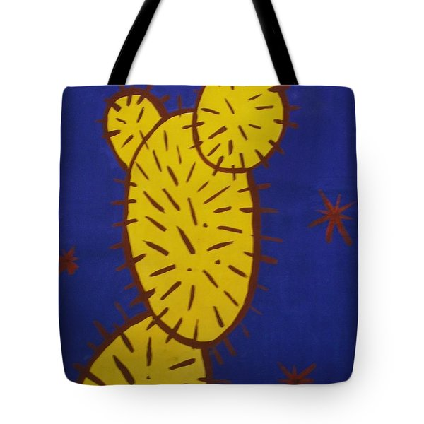 Contemporary Cactus Tote Bag