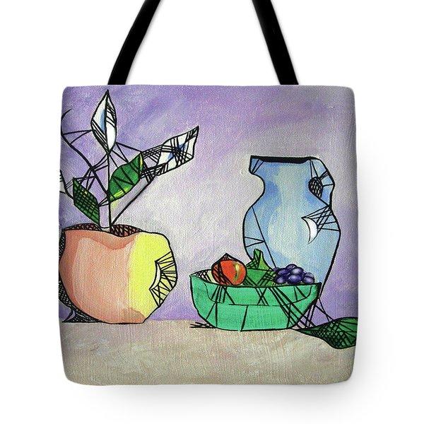 Contemporary Still Life Tote Bag