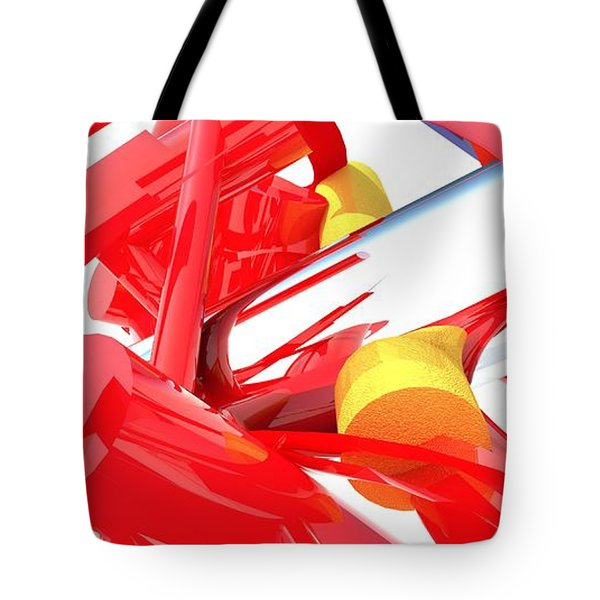 Contemporary Vector Art 1 Tote Bag by Corporate Art Task Force