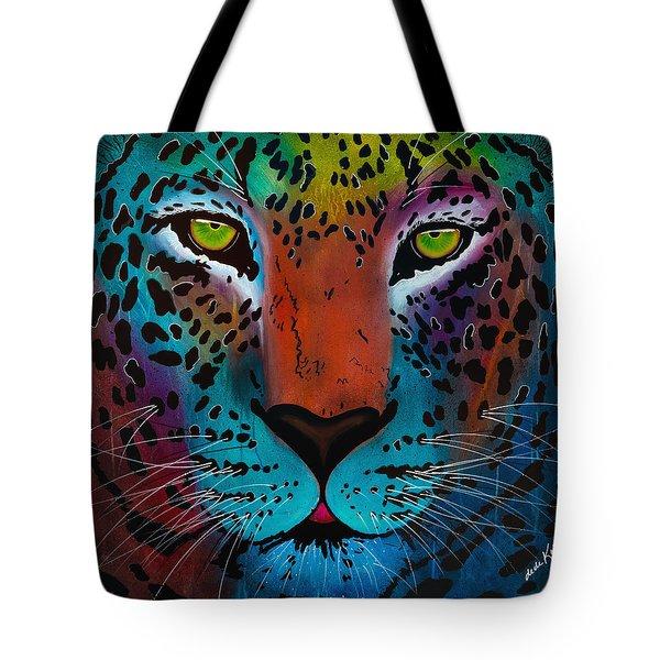 Content Leopard Tote Bag